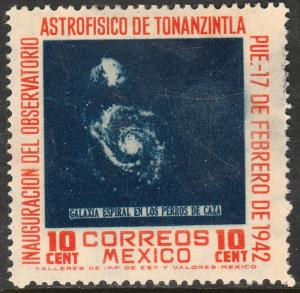 MEXICO 776, 10cts Tonanzintla Astrophysics Observatory. UNUSED, NG. F-VF.