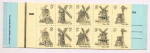USA BK135 1742a, $3 Windmills, Mint, VF