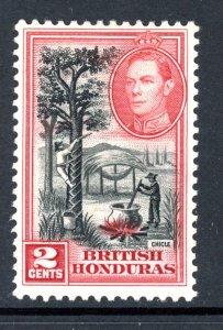 British Honduras 116 MH 1938