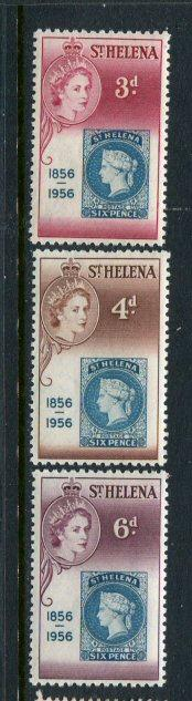 St Helena #153-5 MNH - Penny Auction