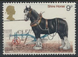 GB  SC# 839 Horses  1978 SG 1063 Used as per scan