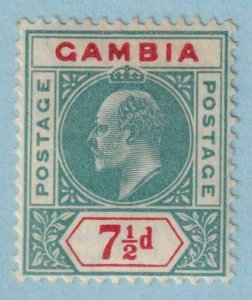 GAMBIA 54  MINT HINGE REMNANT OG * NO FAULTS EXTRA FINE !