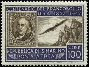 San Marino Scott #C55 Mint Never Hinged