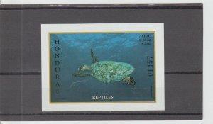 Honduras  Scott#  C1038  MNH  S/S  (1998 Reptiles)