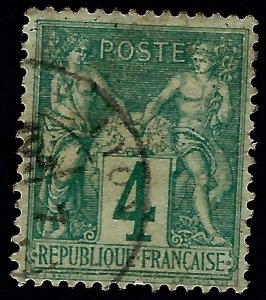 Important France #66 Used F-VF SCV$55...From a great auction!