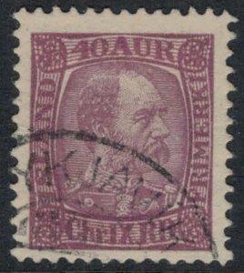Iceland #42  CV $7.75