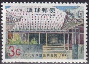 Ryukyu #191  MNH (SU7780)