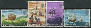 STAMP STATION PERTH Bermuda #280-283 General Issue MLH CV$9.00