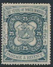 North Borneo  SG 81 MLH    please see scans & details
