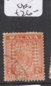 Malaya Jap Oc N Sembilan SG J163 VFU (2dgb)