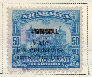 Nicaragua 1918-21 Early Issue Fine Used 2c. Surcharged 323642