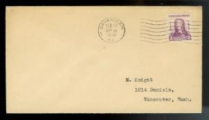 UNITED STATES FDC #726 Feb 12 1933 Savannah