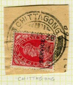 INDIA; POSTMARK fine used cancel on GVI issue, Chittagong PIECE