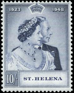 Saint Helena Scott #131 Mint  Silver Wedding Issue