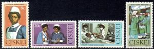 Ciskei - 1982 Nursing Set MNH** SG 22-25