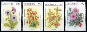[67248] Lesotho 1987 Flora Flowers Blumen  MNH