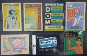 Match Box Labels! hygiene detergent serbia czechoslovakia GJ2