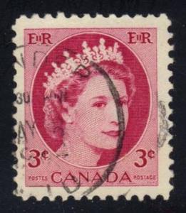 Canada #339 Queen Elizabeth II, used (0.25)