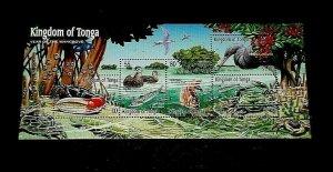TOPICAL, 2001, MARINE LIFE, TONGA, MANGROVE, MNH, SHEET/5, LOT #234, LQQK