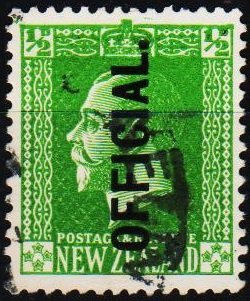 New Zealand. 1915 1/2d(Official) S.G.O96  Fine Used