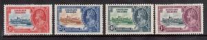 Falkland Islands #77 - #80 VF Mint