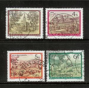 Austria 1285-1286, 1288, 1288A U Monasteries and Addeys (A)