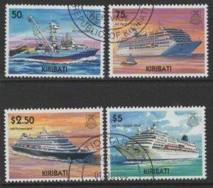 KIRIBATI SG719/22 2004 MERCHANT SHIPS FINE USED