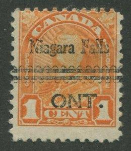 CANADA PRECANCEL NIAGARA FALLS 3-162