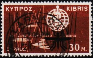 Cyprus. 1962 30m S.G.210 Fine Used
