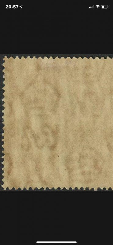 KUT 1938 KGVI 30c black & blue P13.25 SG141 Cat £110 PRICE REDUCED