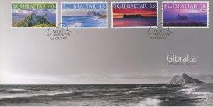 Gibraltar 1104-7 FDC cover landscape (2110 157)