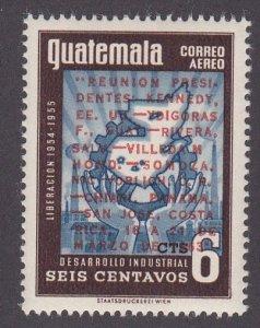 Guatemala # C255, John F. Kennedy, NH, 1/2 Cat.