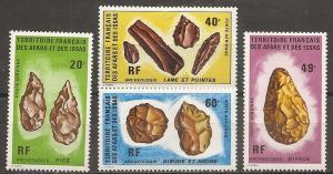 Afars & Issas C77-80 1973 Shells set LH