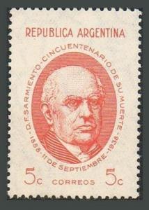 Argentina 455,MNH.Michel 434. Domingo Faustino Sarmiento,President,author,1938.