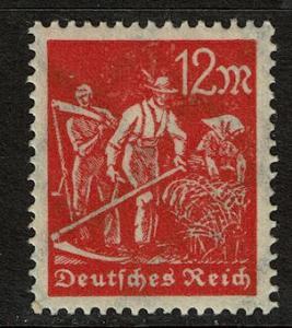 Germany 223 Unused - 12m vermilion (1922)