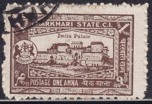 India Charkhari 29 USED 1931 Imilia Palace