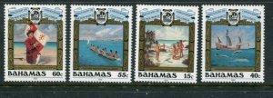Bahamas #749-52 MNH