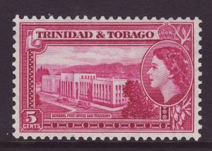 1953 Trinidad 5c GPO Mint