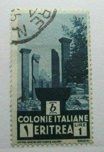 Eritrea Italia Colonie 1933 1L fine used A4P35F5