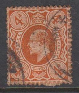 Great Britain KEVII Sc#150 Used