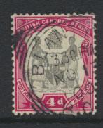 Nyasaland (British Central Africa) BCA SG 45 used
