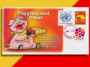 Piggies and Pies!  Cover Salutes Ries Chapter Meeting and Pie Dinner at ORCOEXPO