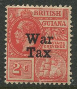 STAMP STATION PERTH British Guiana #MR1 - War Tax MNH Wmk 3 CV$2.00