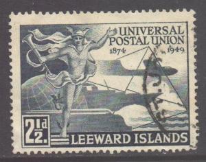 Leeward Is Scott 126 - SG119, 1949 UPU 2.1/2d used