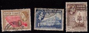 GOLD COAST Sc 148,149,151 Used F-VF