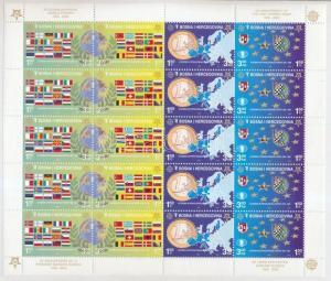 Bosnia Herzegovina stamp 50th anniversary of Europa CEPT minisheet 2005 WS189668