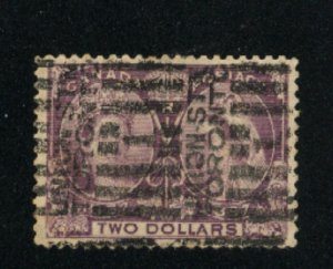 Canada #62  used  VF 1897   PD