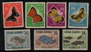 Cuba C185-91 Mint NH (Catalog Value $53.00)