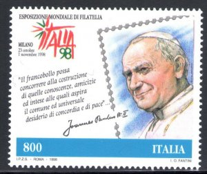 1998 Italy Issue Joint With San Marino  Giornata Del Stamp And De