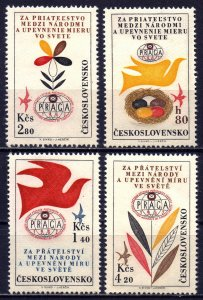 Czechoslovakia. 1962. 1341-44. Philatelic exhibition. MNH.